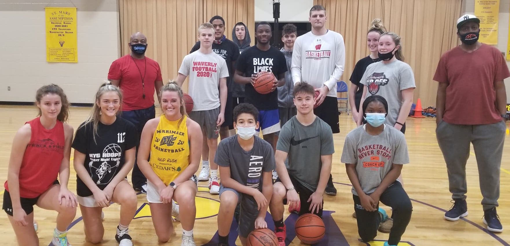 LOCAL HIGH SCHOOL, COLLEGE PLAYERS APPRECIATIVE FOR OPPORTUNITY TO GET COURT TIME, THANKS TO VALLEY-BASED AAU PROGRAM