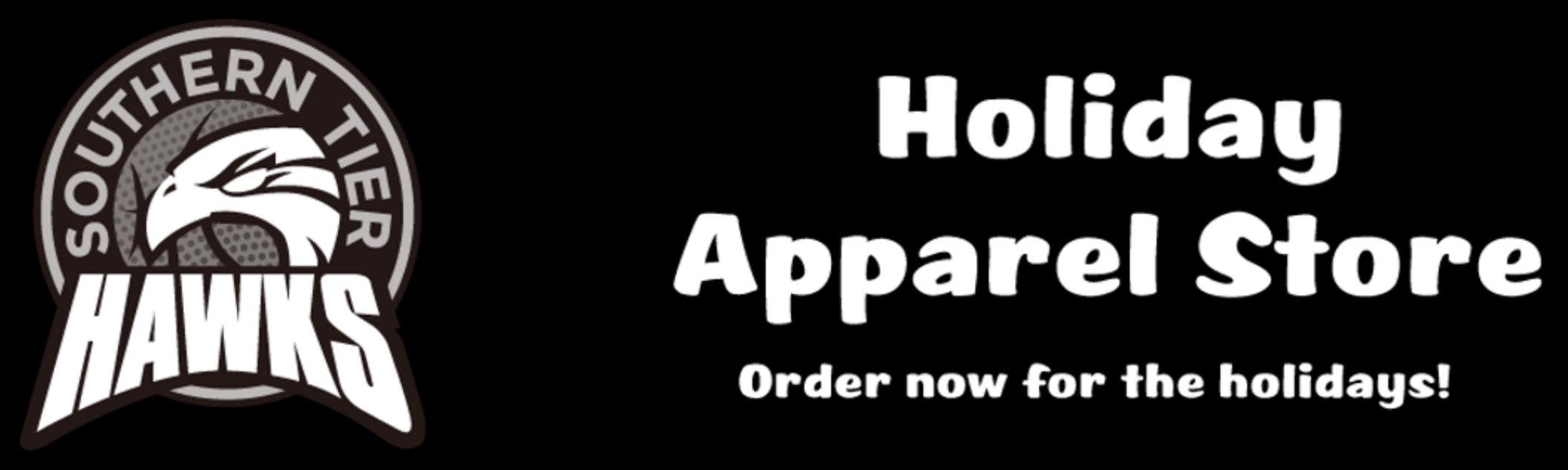DEADLINE TO ORDER HAWKS APPAREL IS THURSDAY