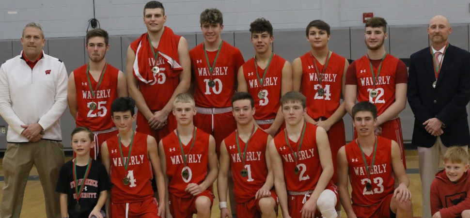 WAVERLY PULLS OUT WILD, 64-63, WIN OVER ATHENS IN VALLEY CHRISTMAS TOURNAMENT CHAMPIONSHIP GAME.