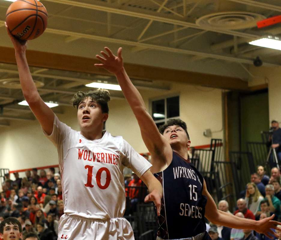 WATKINS GLEN TOPS WAVERLY IN PLAYOFF FOR SOUTH'S LARGE SCHOOL TITLE