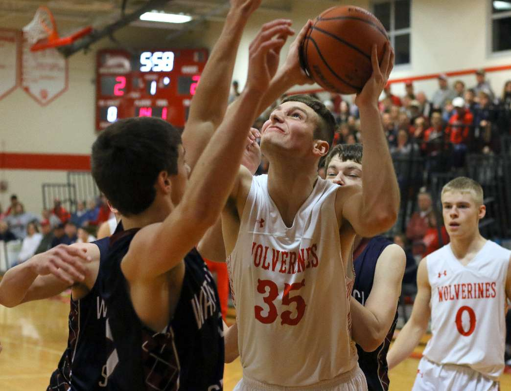 WAVERLY'S WOODRING EARNS SOUTH'S LARGE SCHOOL DIVISION MVP HONORS — TWO WOLVERINES EARN SECOND-TEAM HONORS