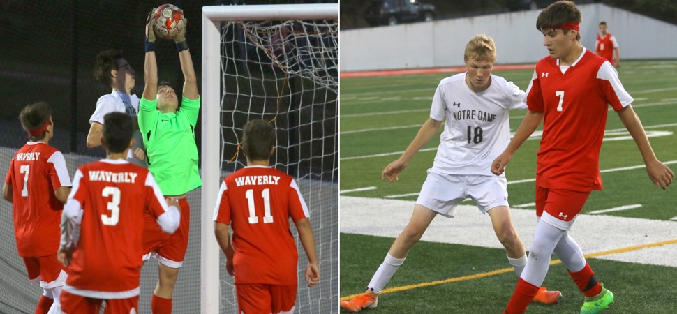 WAVERLY PLACES TWO ON FIRST-TEAM DIVISIONAL ALL-STAR TEAM; TWO ON SECOND TEAM