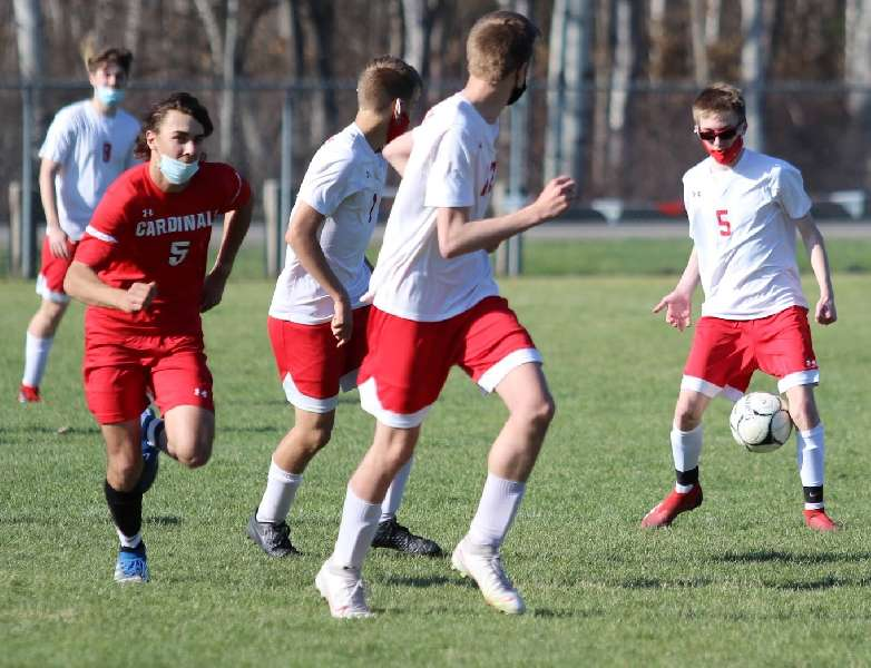 NEWARK VALLEY SLIPS PAST WAVERLY, 1-0, WITH LATE GOAL