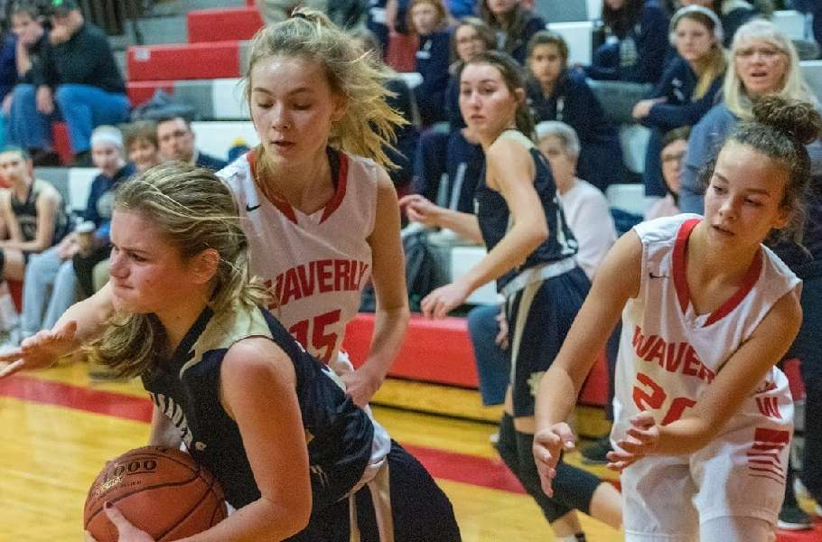 FIRST-HALF RUN CARRIES WAVERLY JV TO 45-26 WIN OVER NOTRE DAME