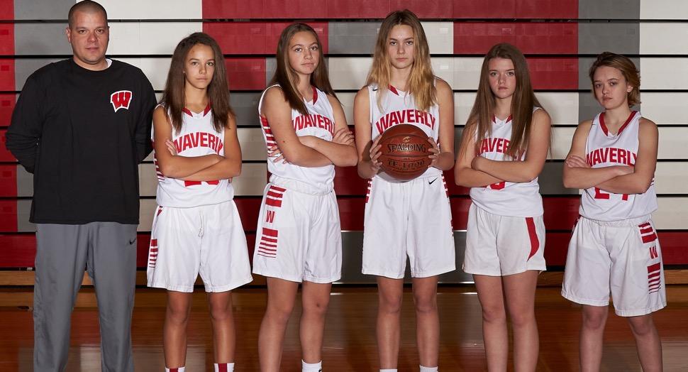 2019 Waverly Wolverines Junior Varsity Girls Basketball Roster