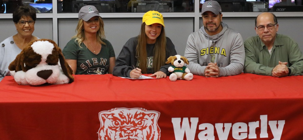 ORTIZ SIGNS TO PLAY DIVISION I SOCCER AT SIENA COLLEGE.