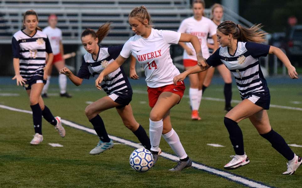WAVERLY, NOTRE DAME BATTLE TO 0-0 DOUBLE-OVERTIME DRAW