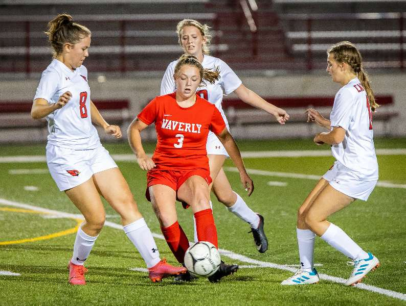 WAVERLY RALLIES FROM TWO GOALS DOWN AT HALF; EDGES NEWARK VALLEY, 3-2
