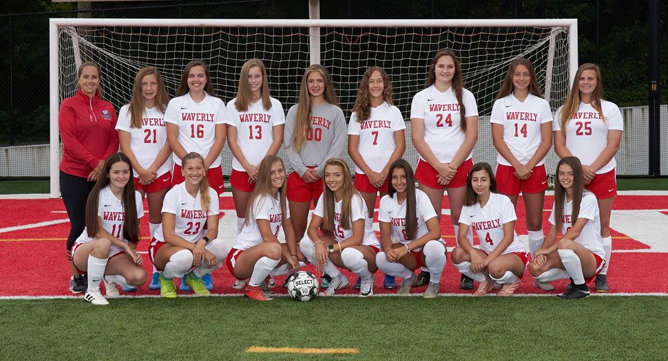 2019 Waverly Wolverines Varsity Girls Soccer Roster