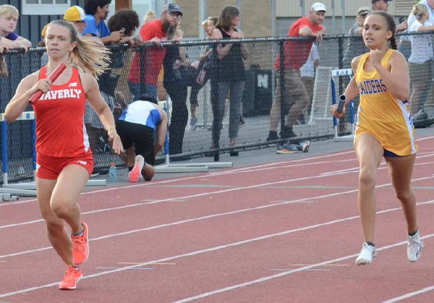 MINAKER, 1600 RELAY ADVANCE TO SECTION IV TRACK & FIELD SHOWCASE