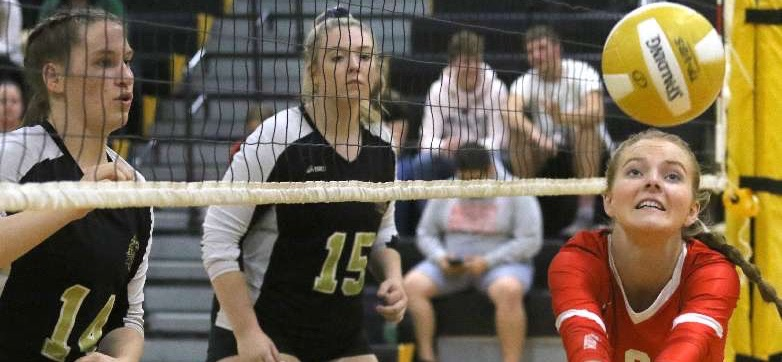 SIXTH-SEED WAVERLY EARNS CHANCE TO DEFEND TITLE AGAINST TOP-SEED WINDSOR IN CLASS C TITLE MATCH — CROFT RECORDS HER 1,000TH CAREER SETTER ASSIST