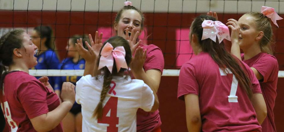 WAVERLY STAVES OFF TIOGA COMEBACK TO WIN FIVE-SET THRILLER.