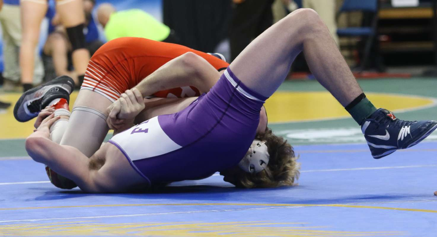 STOTLER WIPES OUT EARLY DEFICIT WITH PIN; ADVANCES TO STATE QUARTERFINALS