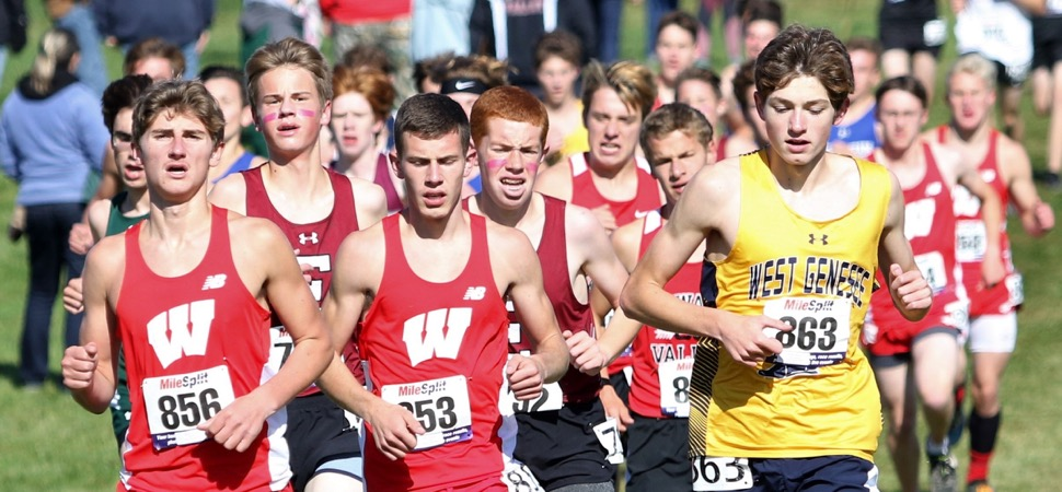 WRIGHT, ACKLEY PACE WAVERLY TO 6TH-PLACE FINISH IN SEEDED RACE AT MARATHON INVITE.