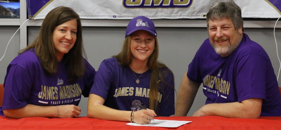 SMITH SIGNS TO RUN TRACK, CROSS COUNTRY AT DIVISION I JAMES MADISON.