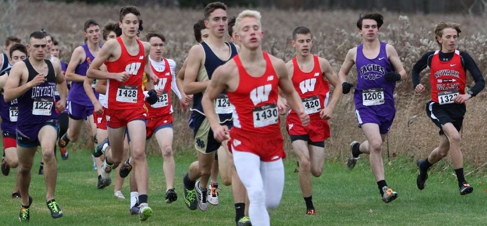 WRIGHT FINISHES THIRD, LEADS WOLVERINES TO THIRD-PLACE FINISH AT LEAGUE MEET.