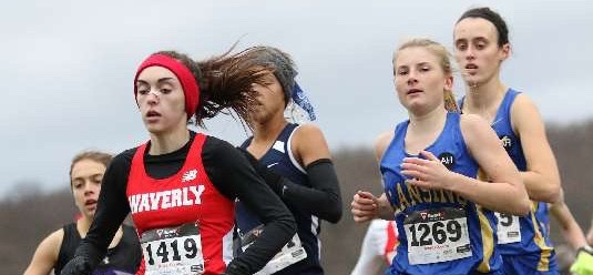 WAVERLY'S TALADA FINISHES SECOND AT LEAGUE MEET; LADY WOLVERINES FINISH THIRD AT IAC MEET.