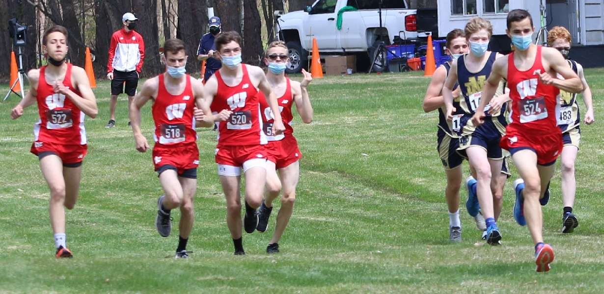 WRIGHT, ACKLEY TURN IN STRONG PERFORMANCES AT END-OF-SEASON MEET
