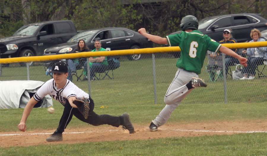 ATHENS DROPS 6-2 DECISION AT WYALUSING