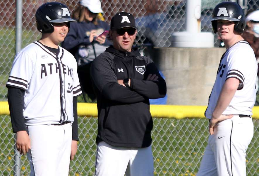 SOPHOMORE DUO COMBINE OF FOUR-HITTER; ATHENS BLANKS WILLIAMSON, 9-0