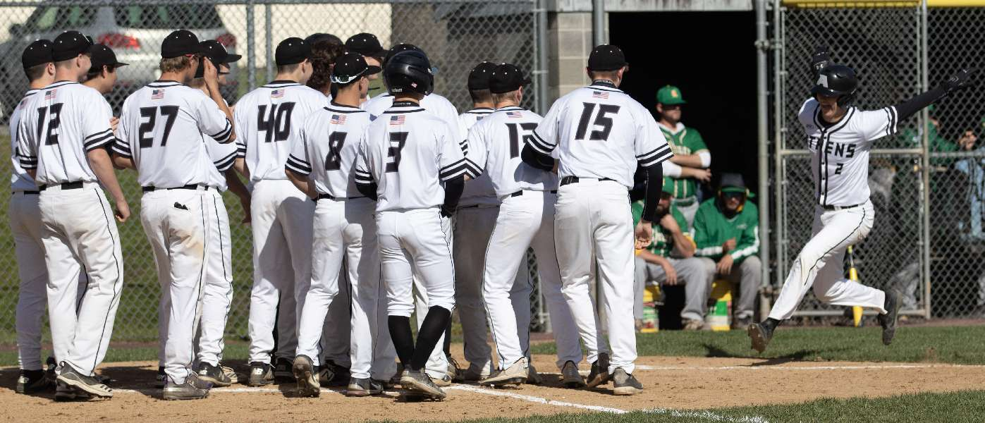 ATHENS HOLDS OFF WYALUSING, 9-5