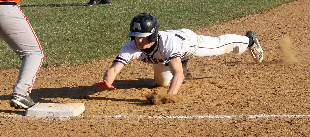 ATHENS PUTS IT TOGETHER IN 8-1 WIN OVER TOWANDA