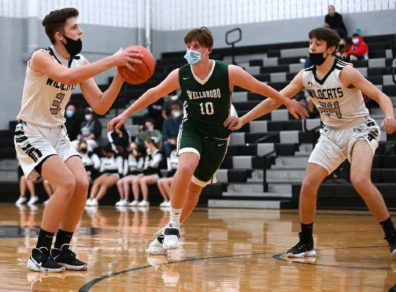 ATHENS RALLIES FROM 16-POINT 4TH-QUARTER DEFICIT TO EDGE WELLSBORO, 54-53