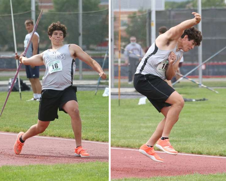 ELLIS WINS GOLD, HEADED TO STATES; THOMPSON EARNS TWO MEDALS