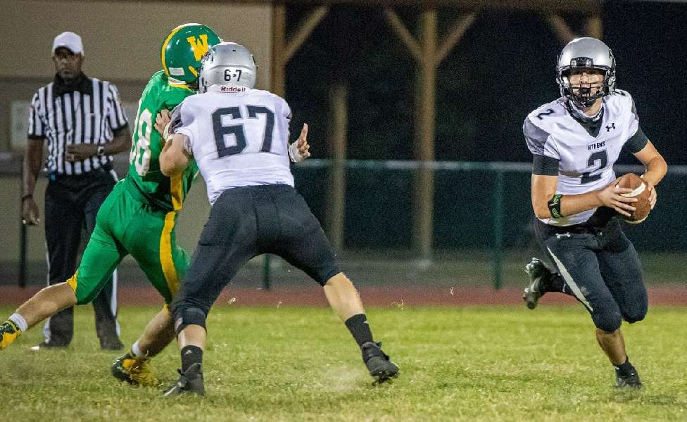 ATHENS PUTS TOGETHER COMPLETE GAME IN 21-14 WIN OVER WYALUSING