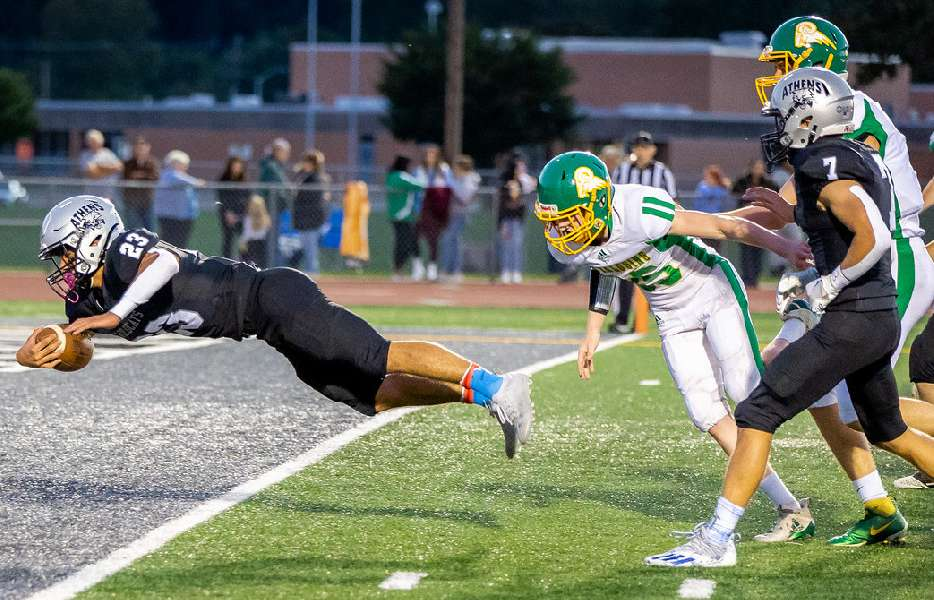 ATHENS RIDES FAST START TO 46-6 ROUT OF WYALUSING