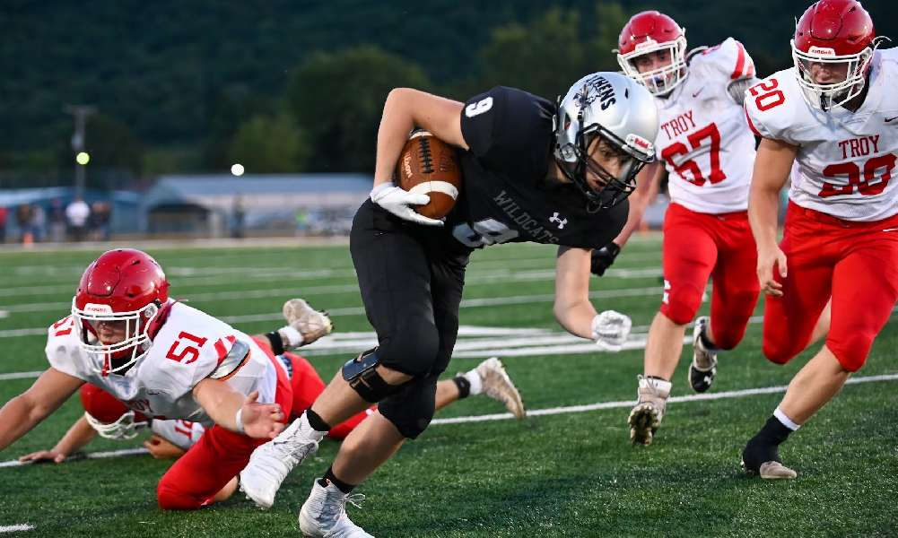 TROY RIDES DEFENSE, GROUND GAME TO 13-0 WIN OVER ATHENS
