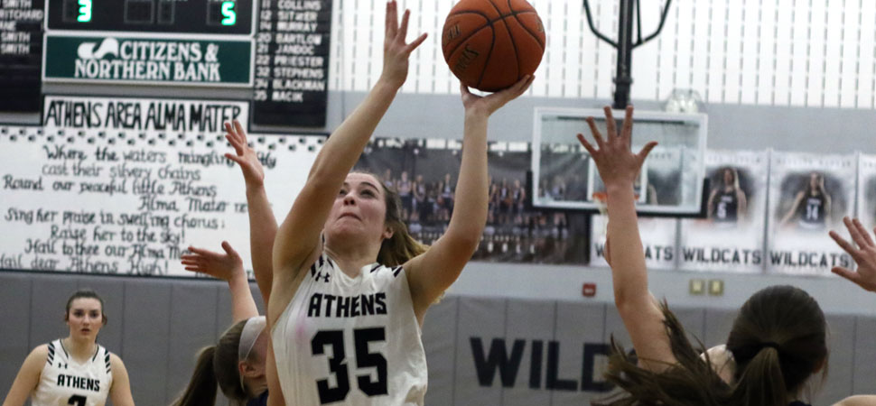 Athens tops Montoursville, 52-45, in Class AAAA quarterfinals.