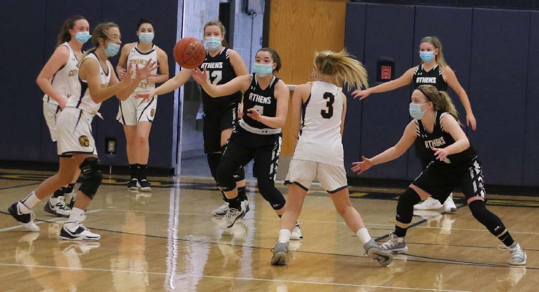 ATHENS USES 44-0 RUN IN SEASON-OPENING ROUT OF COWANESQUE VALLEY