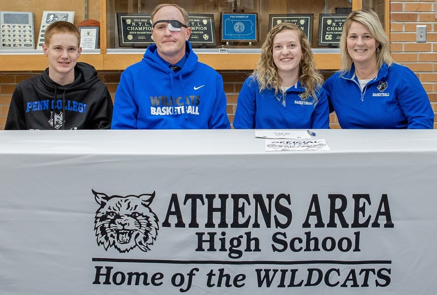 MILLER SIGNS LETTER-OF-INTENT TO PLAY BASKETBALL AT PENN COLLEGE