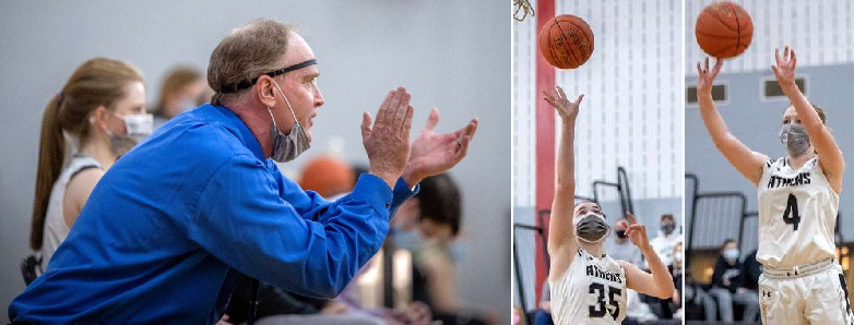 ATHENS' MILLER 'COACH OF YEAR' — MACIK, MILLER REPEAT AS FIRST-TEAM LARGE SCHOOL ALL-STARS