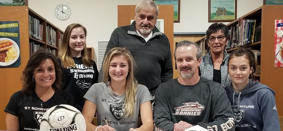 Hutchison signs to play at Division I St. Bonaventure