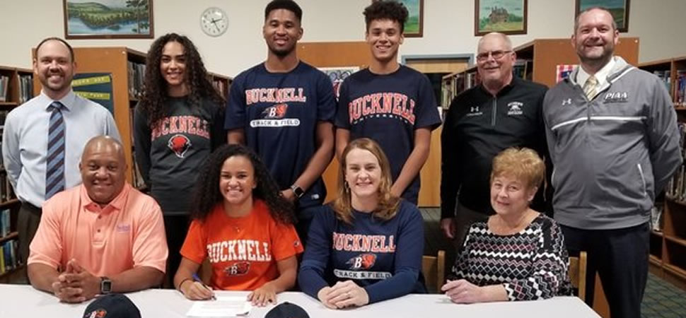Athens' Gambrell signs Letter of Intent to compete at Division I Bucknell.
