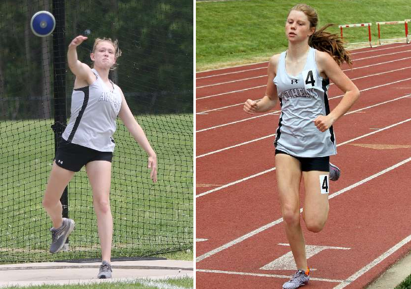BARTLOW, BRONSON LEAD LADY WILDCATS AT DISTRICT 4 TRACK & FIELD CHAMPIONSHIPS