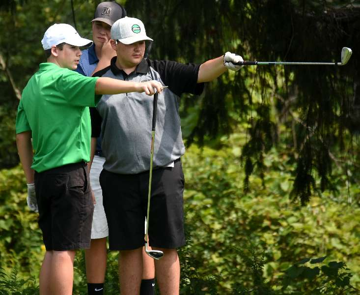 ATHENS FINISHES SECOND, 1 STROKE BEHIND SAYRE