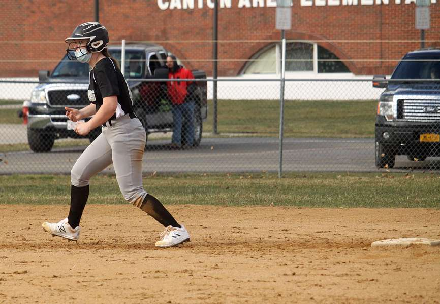 ATHENS BANGS OUT 10-8 SEASON-OPENING WIN OVER CANTON