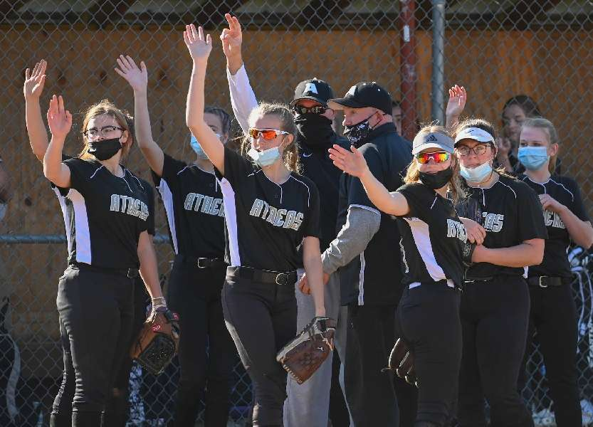 ATHENS POUNDS OUT 18-0 WIN OVER SAYRE