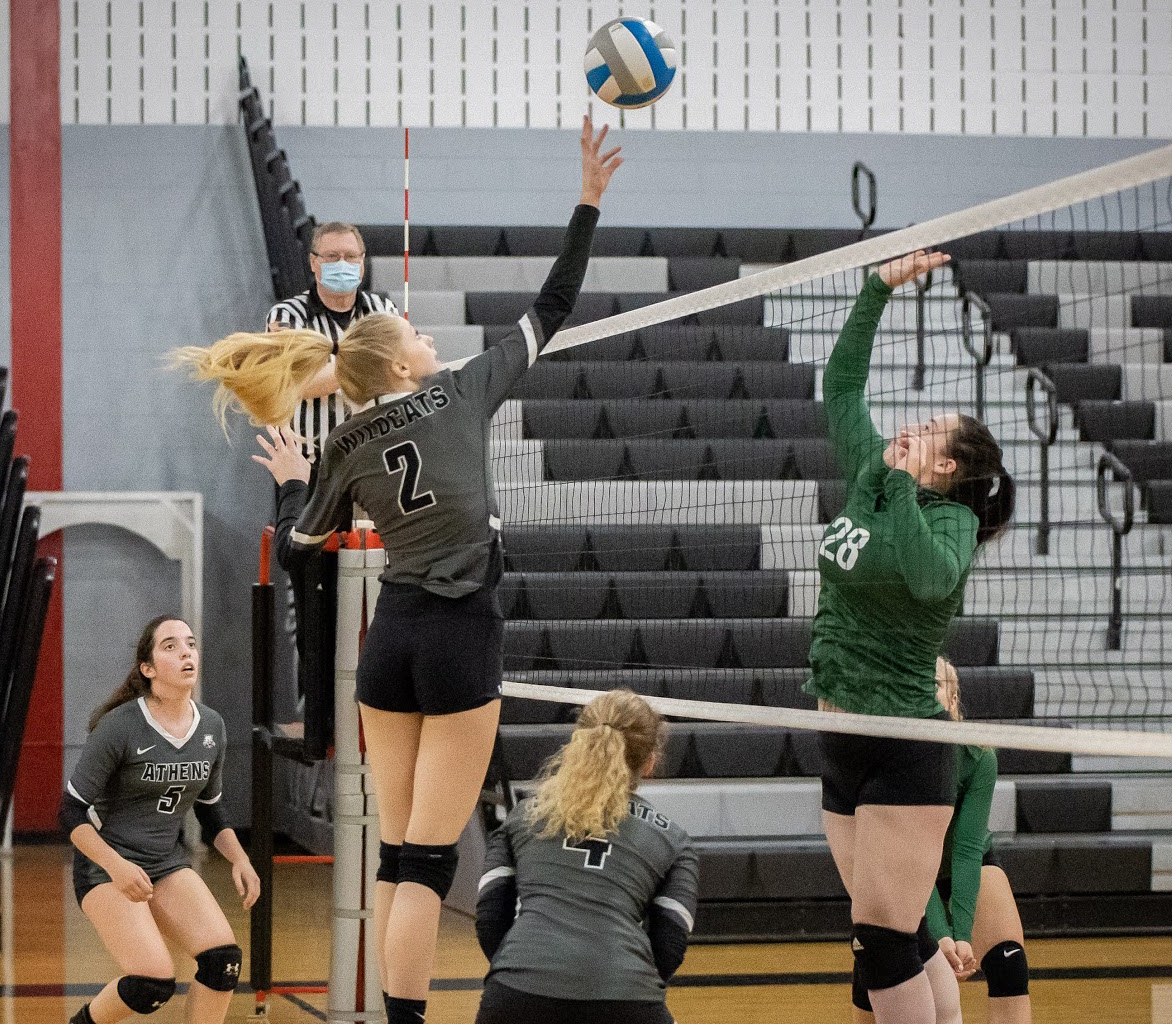 WELLSBORO REBOUNDS, SWEEPS ATHENS