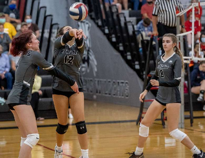 ATHENS SWEEPS PAST SAYRE