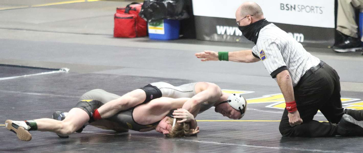ATHENS' BRADLEY WINS TWICE; WILL WRESTLE FOR 113-POUND PIAA GOLD