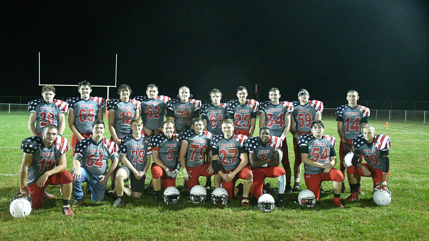 Bucks Notch Veterans Appreciation Day Win over Terrors, 22-12