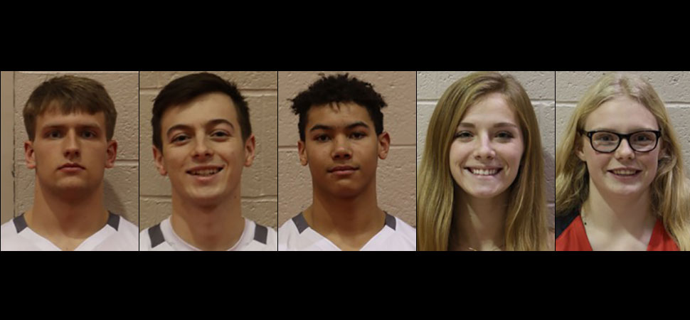 Five Warriors named to NTL All-Star basketball teams.