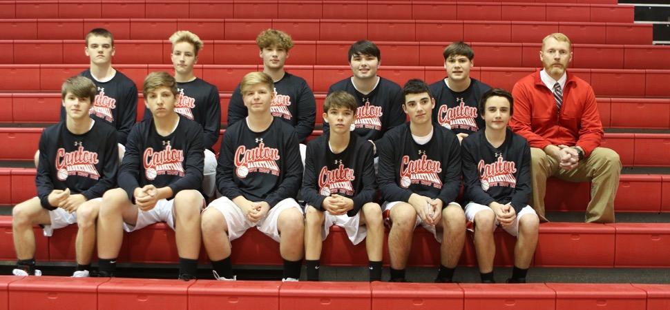 2019 Canton Warriors Junior Varsity Boys Basketball Roster