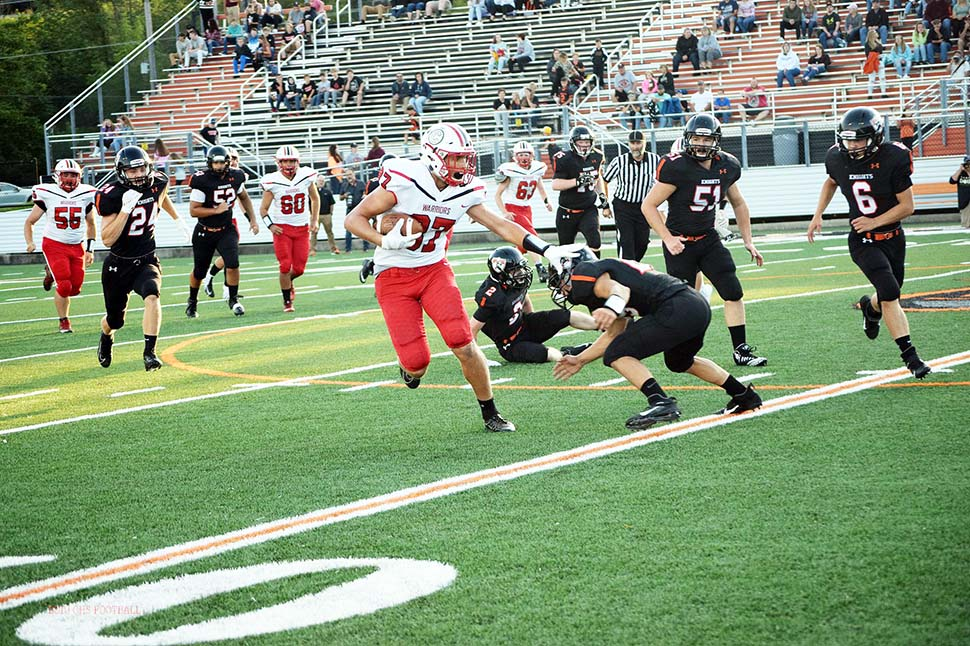 Warriors roll to 40-6 win over Towanda