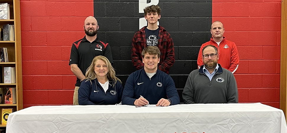 Knapp signs Letter Of Intent with Penn State
