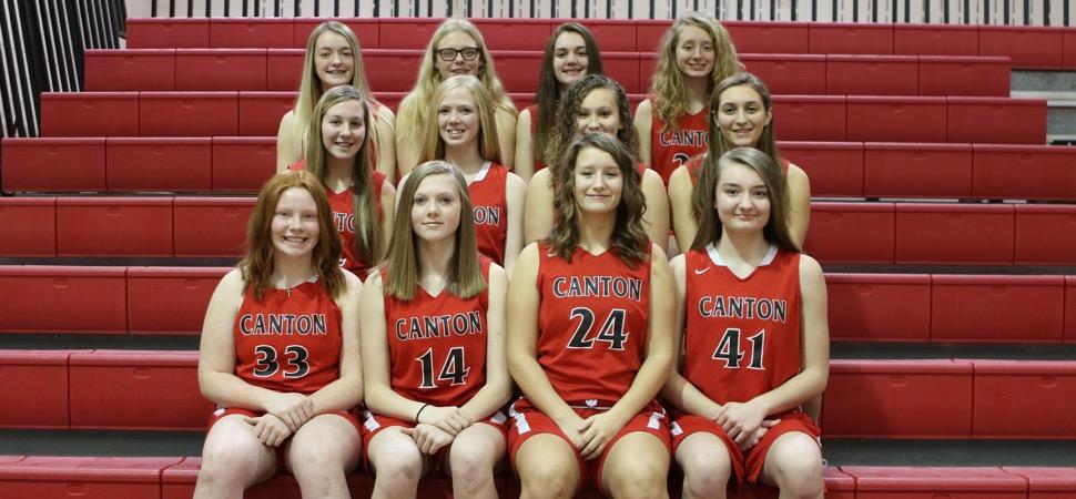 2019 Canton Warriors Junior Varsity Girls Basketball Roster